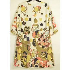 Vertigo Paris Dresses - Vertigo Paris dress mini tunic silk cotton blend a